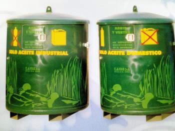 Contenedor para Recogida de Aceite usado